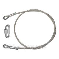 ПК Б 160 - крепежная или локальная (локалка) петля из металлического троса в ПВХ оболочке 160 см