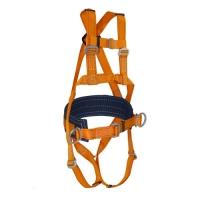 Страховочно-удерживающая привязь УС 2 Ж 4 с двумя элементами крепления стропа для страховки и двумя для удержания и позиционирования